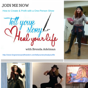 Join me to Tell Your Story Heal Your Life pic