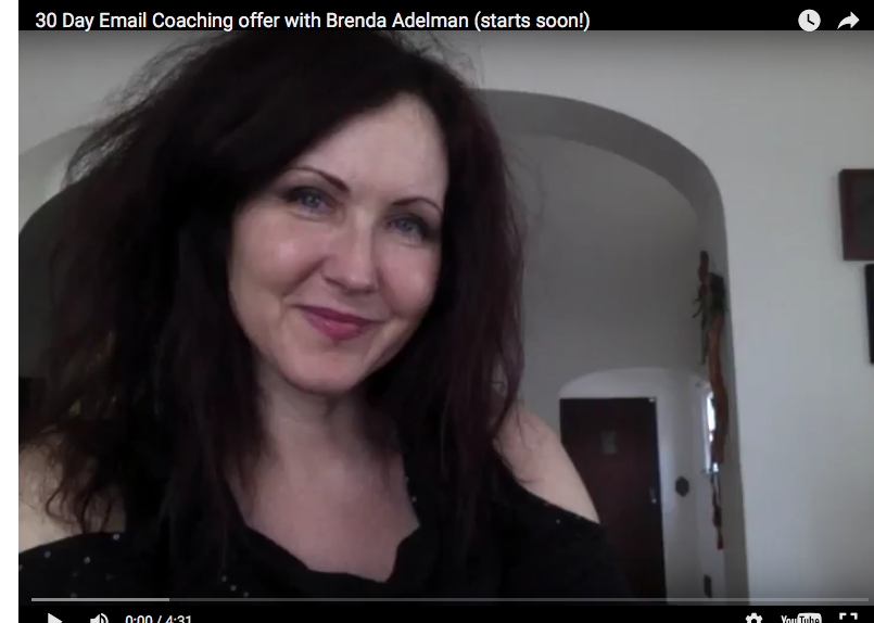 30 Days of Email Coaching with Brenda Adelman (Limited Time Offer)