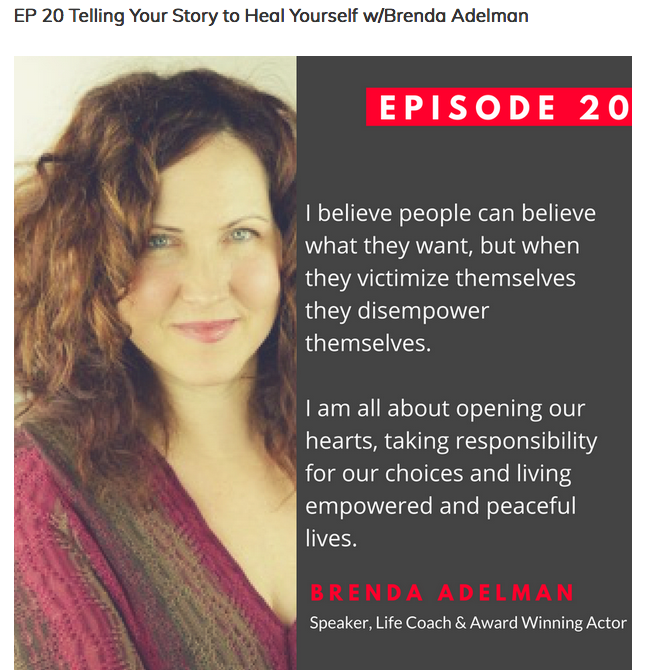 Uncomfortable Conversations Interview with Brenda Adelman by Lisa Schmidt
