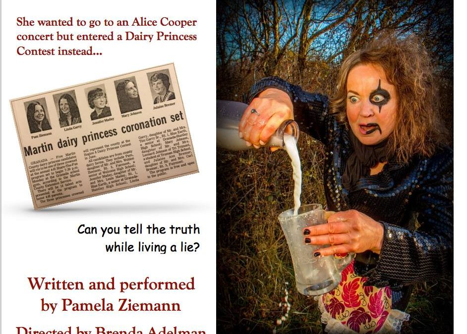 Client Pamela Ziemann's one-woman show at Tuscon Fringe