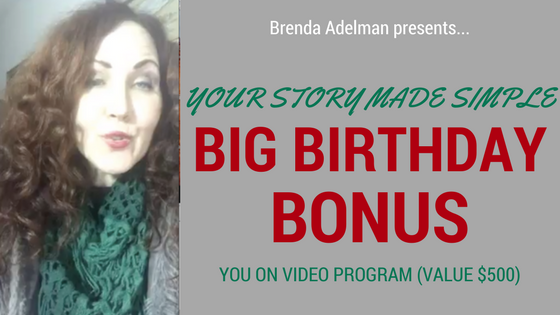 Find Out How to Share Your Story with this Birthday Special